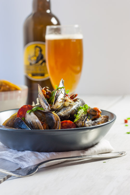 moule marinière biere chorizo estragon2