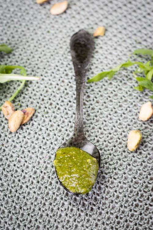 pesto pistache roquette2