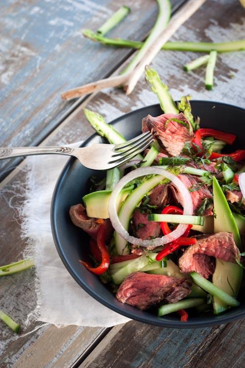 boeuf en salade