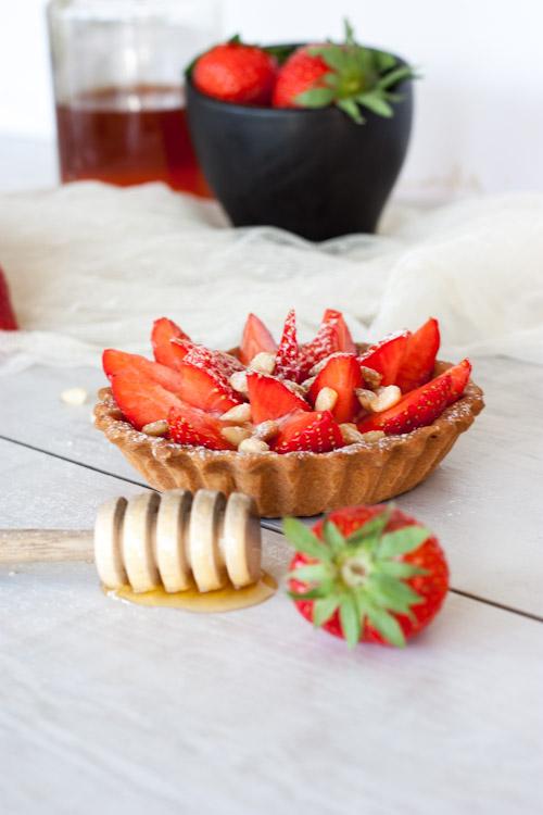 tartelette fraise miel pignon3