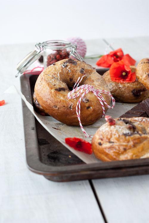 bagel chocolat baies goji3