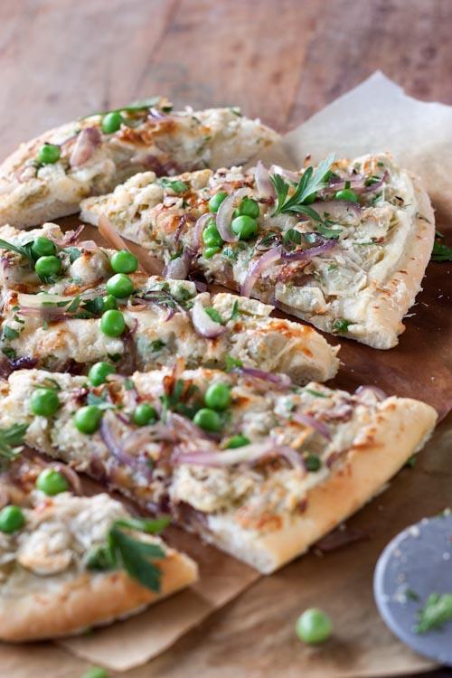 pizza petits pois, ricotta, ravioles du royans 5