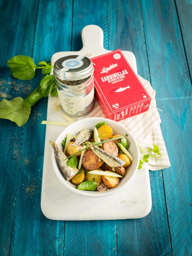sardinillas pommes de terres en salade-3