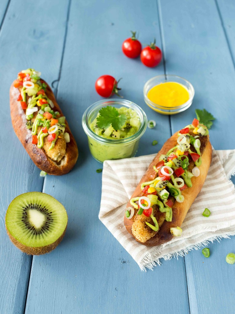 hot fish guacamole kiwi